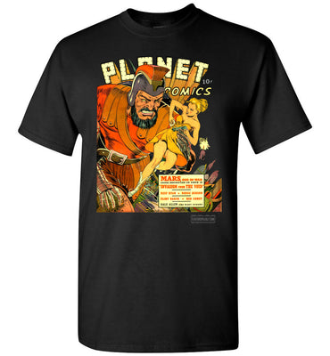 Planet Comics No.16 T-Shirt (Unisex Plus, Dark Colors)