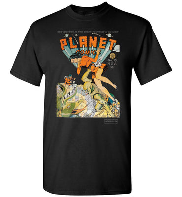 Planet Comics No.15 T-Shirt (Unisex Plus, Dark Colors)