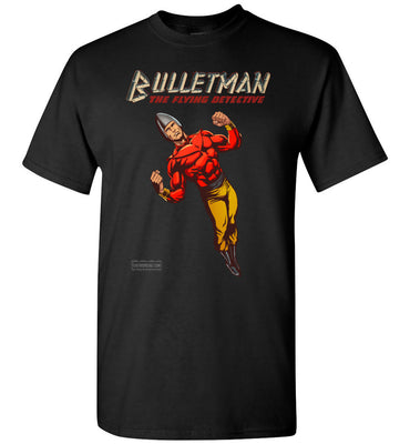 Bulletman Reimagined T-Shirt (Unisex Plus, Dark Colors)