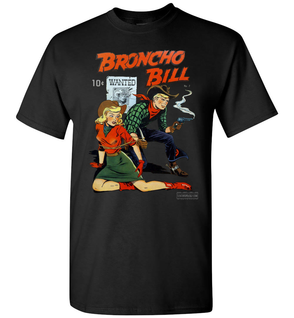 Broncho Bill No.7 T-Shirt (Unisex, Dark Colors)