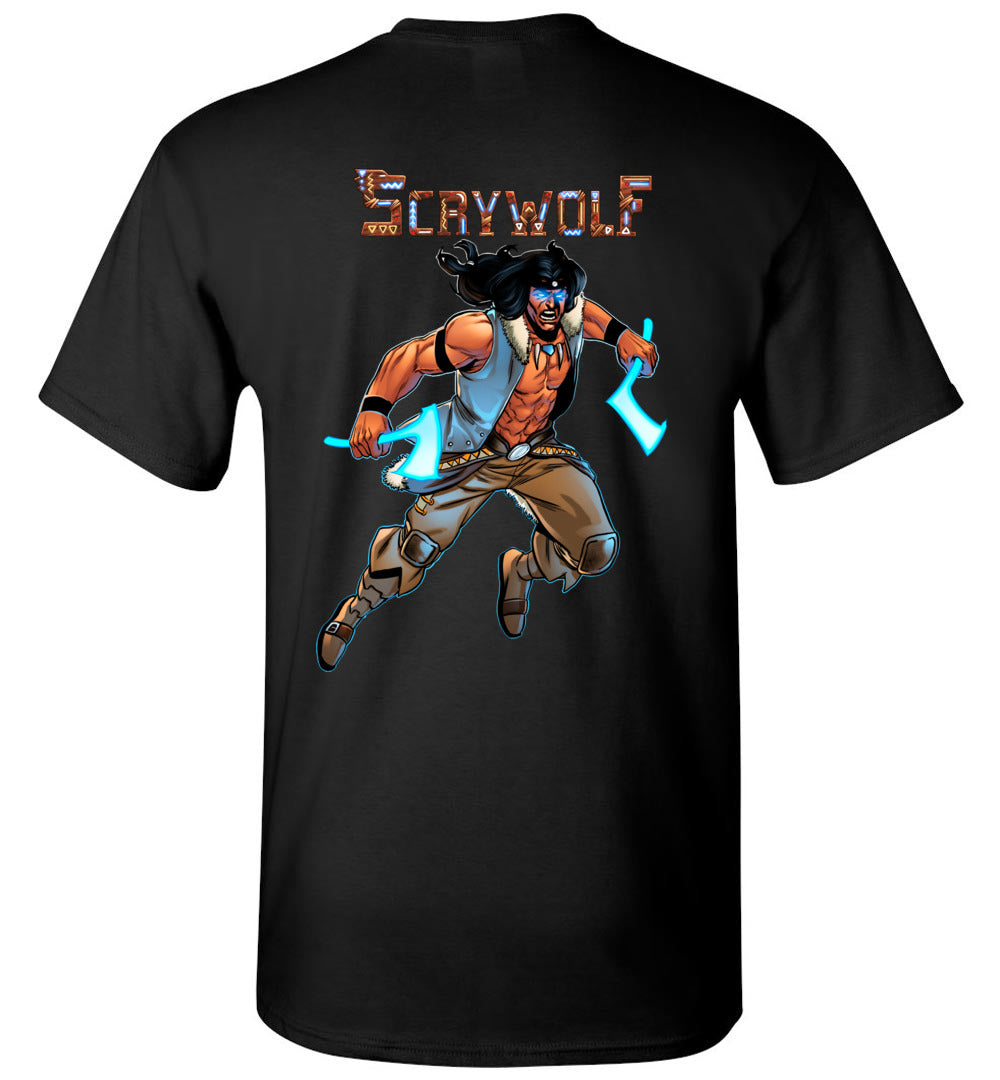 Capes & Chaos Scrywolf T-Shirt (Youth)
