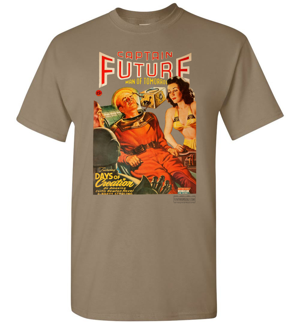 Captain Future No.17 T-Shirt (Unisex, Light Colors)