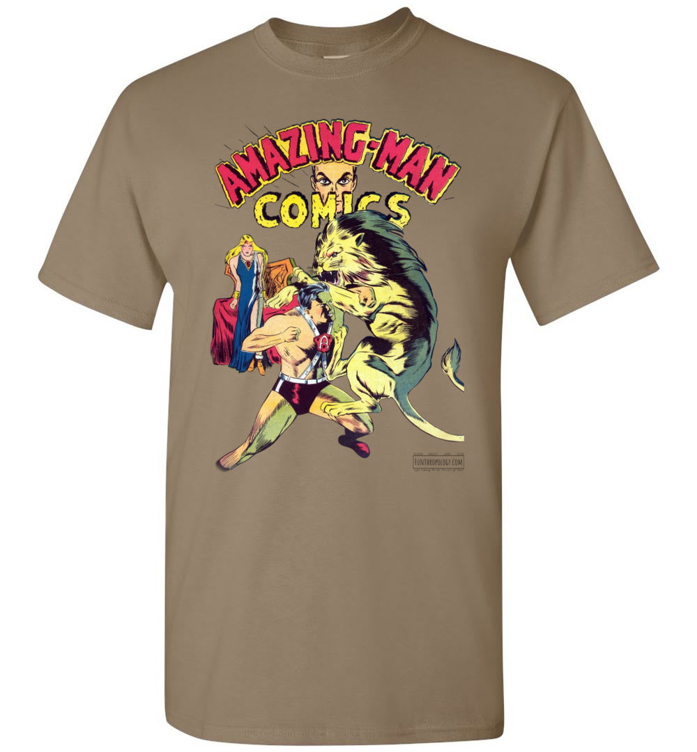 Amazing-Man Comics No.14 T-Shirt (Unisex, Light Colors)