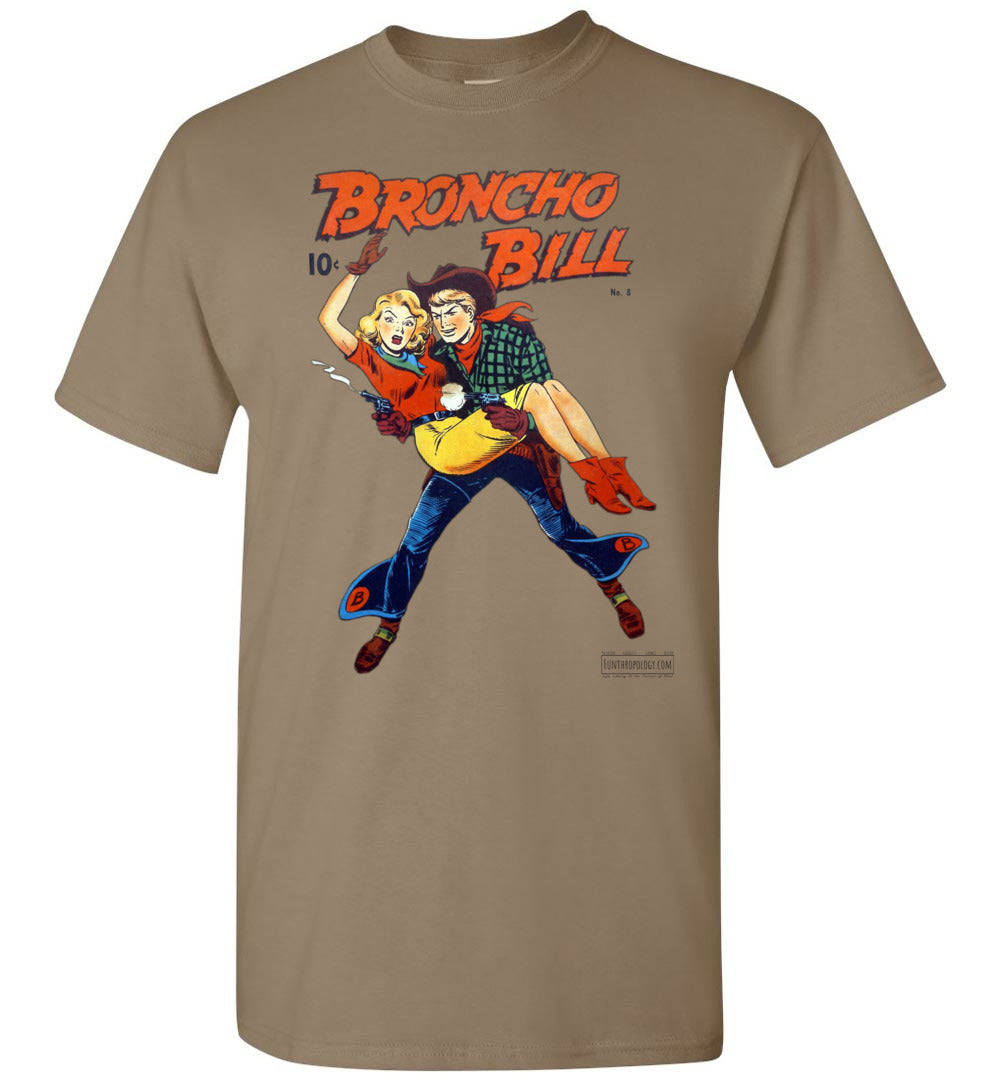 Broncho Bill No.8 T-Shirt (Unisex, Light Colors)