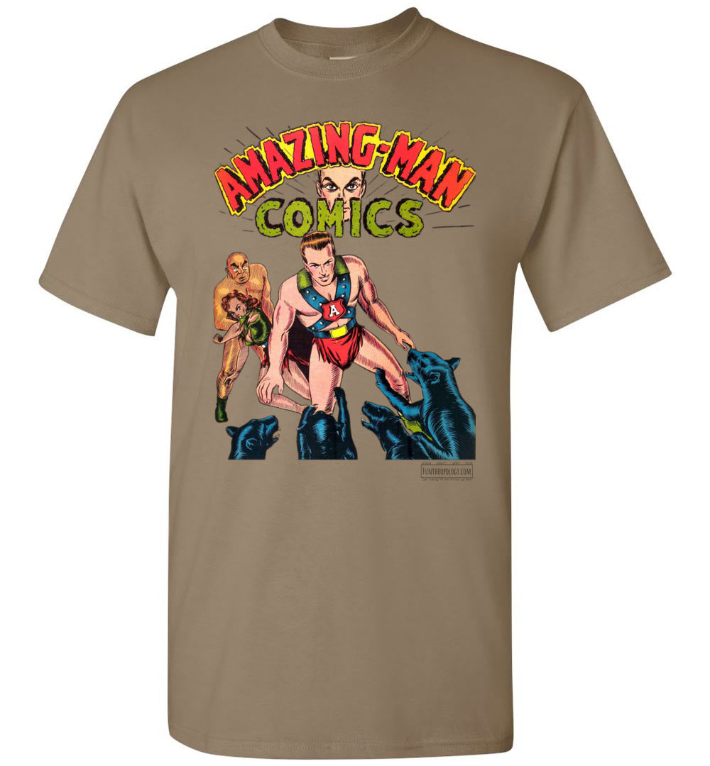 Amazing-Man Comics No.11 T-Shirt (Unisex, Light Colors)