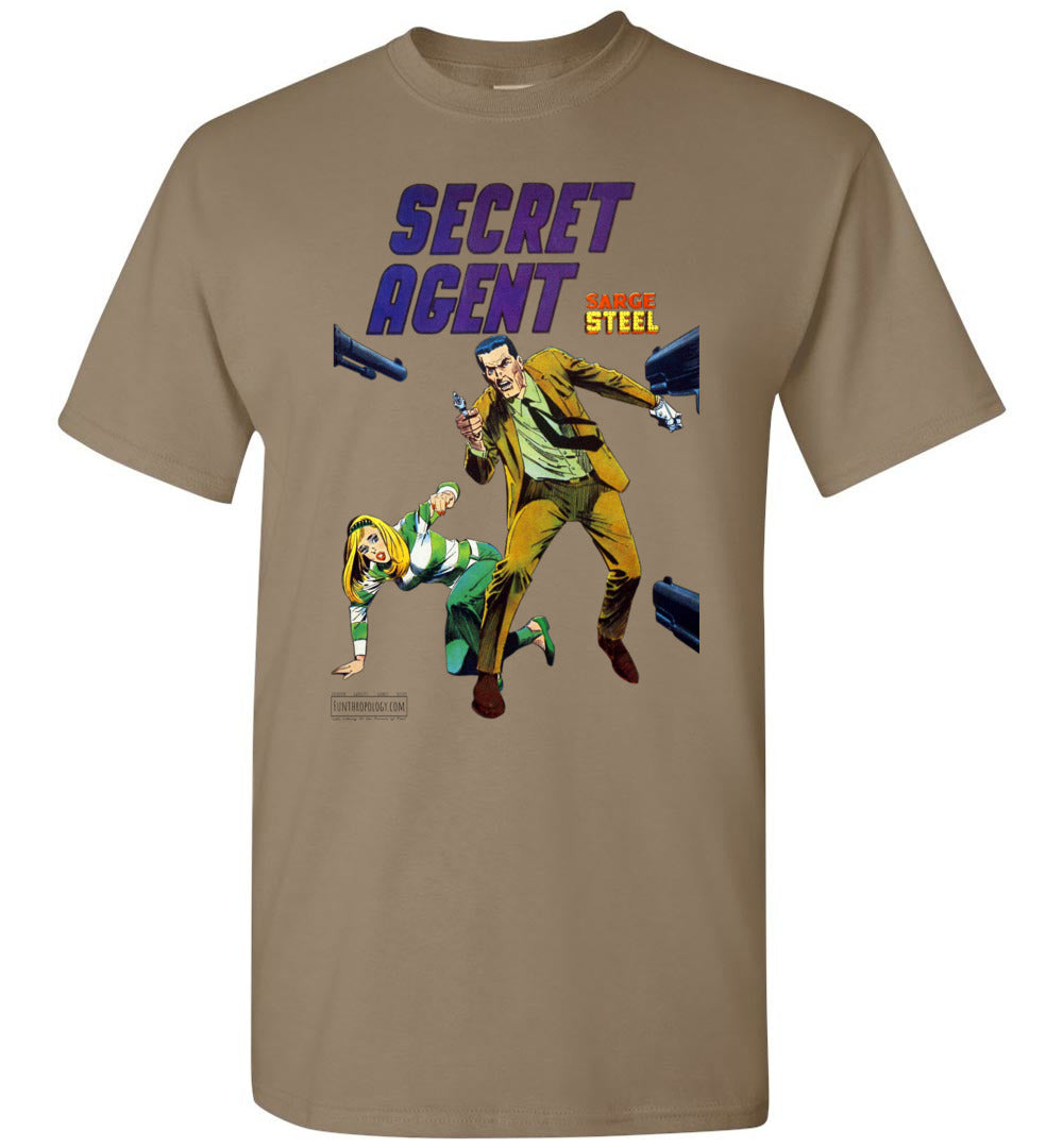 Secret Agent No.10 T-Shirt (Unisex, Light Colors)