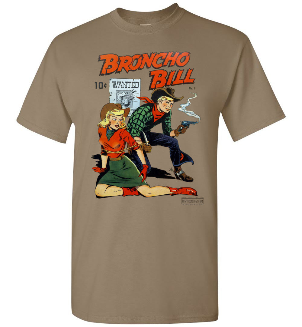 Broncho Bill No.7 T-Shirt (Unisex, Light Colors)