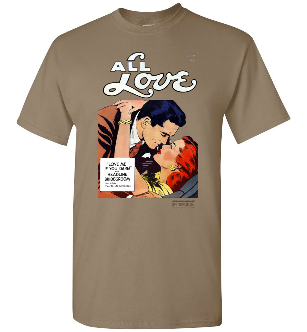 All Love No.29 T-Shirt (Unisex, Light Colors)