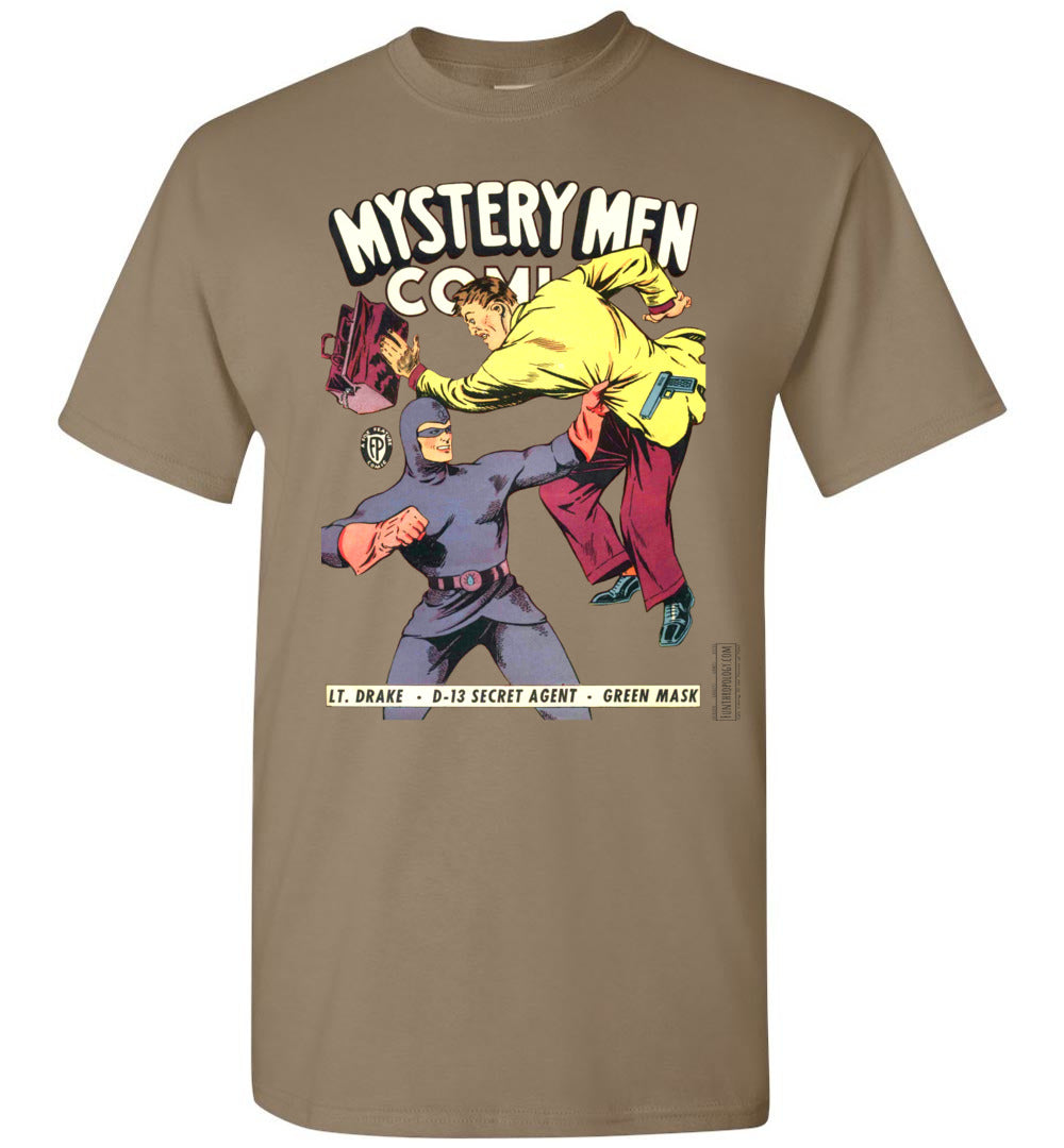 Mystery Men Comics No.18 T-Shirt (Unisex, Light Colors)