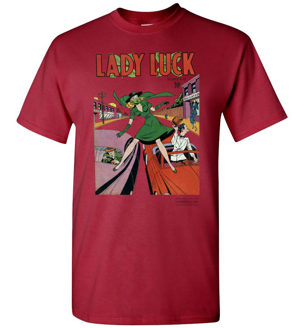 Lady Luck No.86 T-Shirt (Unisex, Light Colors)