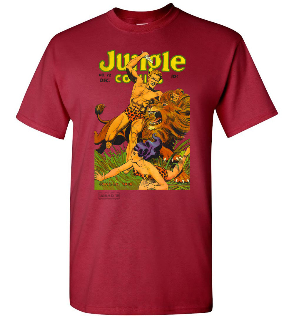 Jungle Comics No.72 T-Shirt (Unisex, Light Colors)