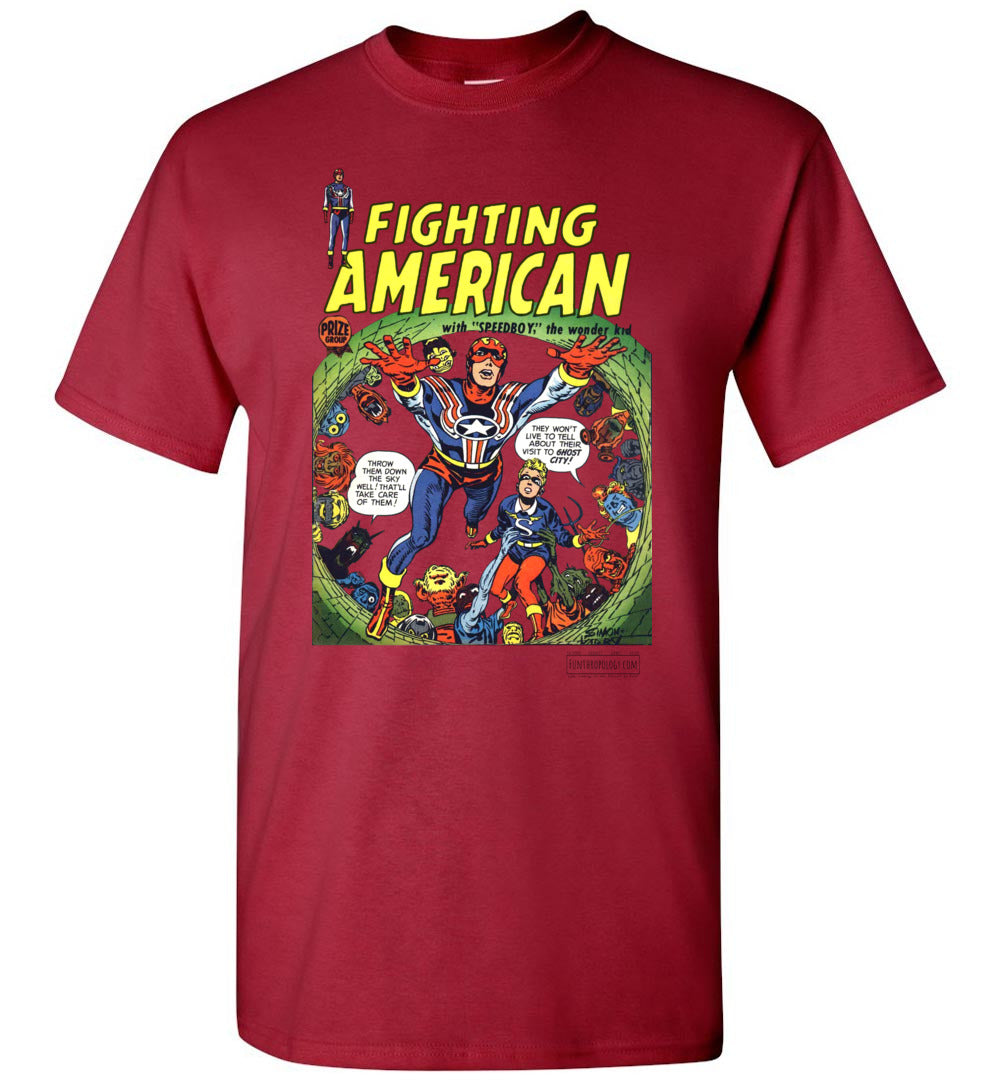 Fighting American No.2 T-Shirt (Unisex, Light Colors)