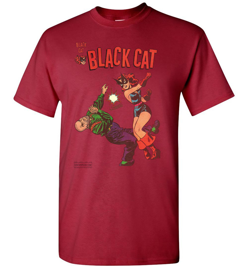 Black Cat No.4 T-Shirt (Unisex, Light Colors)