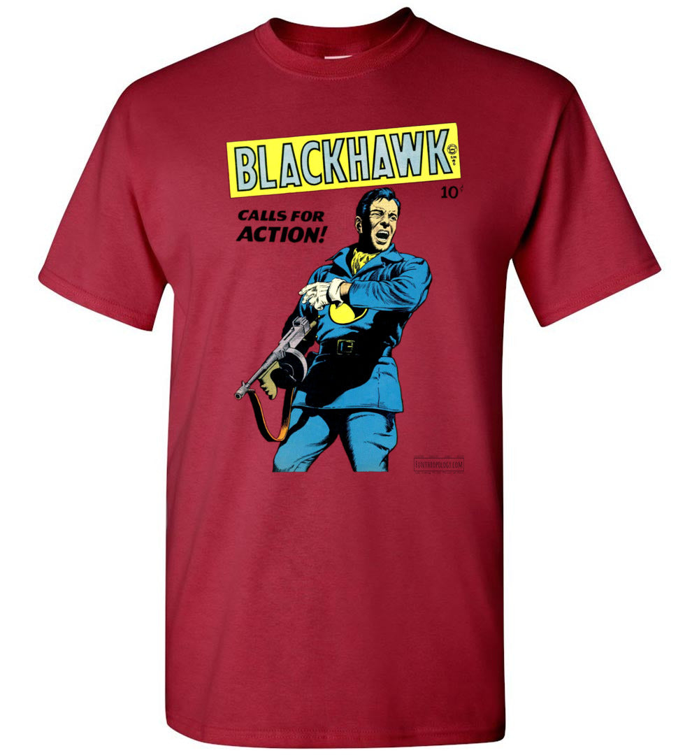 Blackhawk No.19 T-Shirt (Unisex, Light Colors)