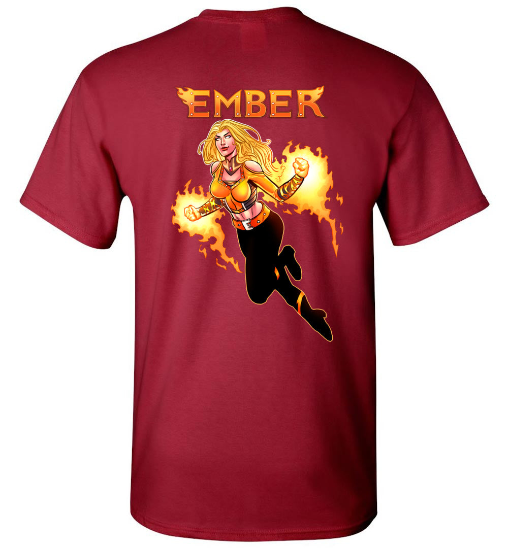 Capes & Chaos Ember T-Shirt (Unisex)