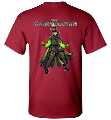 Capes & Chaos The Ghost Doctor T-Shirt (Unisex)