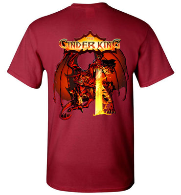 Capes & Chaos The Cinder King T-Shirt (Unisex)