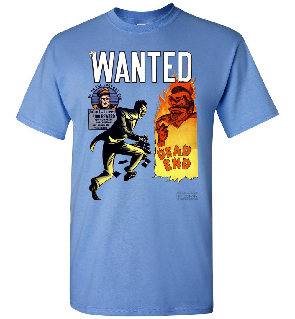 Wanted Comics No.34 T-Shirt (Unisex, Light Colors)