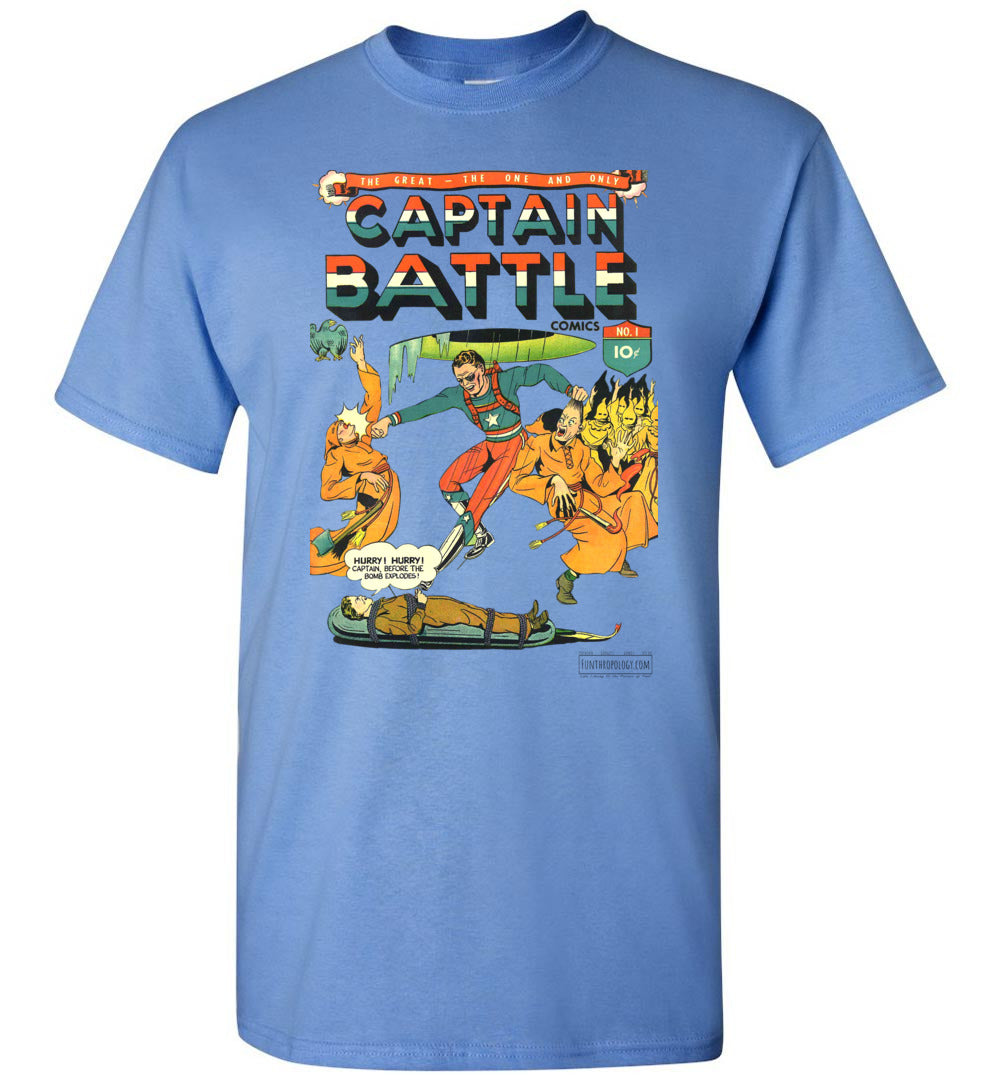 Captain Battle No.1 T-Shirt (Unisex, Light Colors)