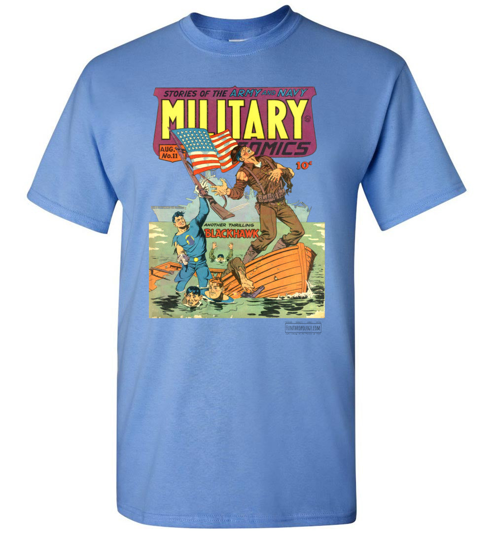 Military Comics No.11 T-Shirt (Youth, Light Colors)