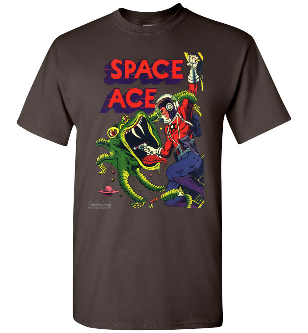 Space Ace No.5 T-Shirt (Unisex, Dark Colors)