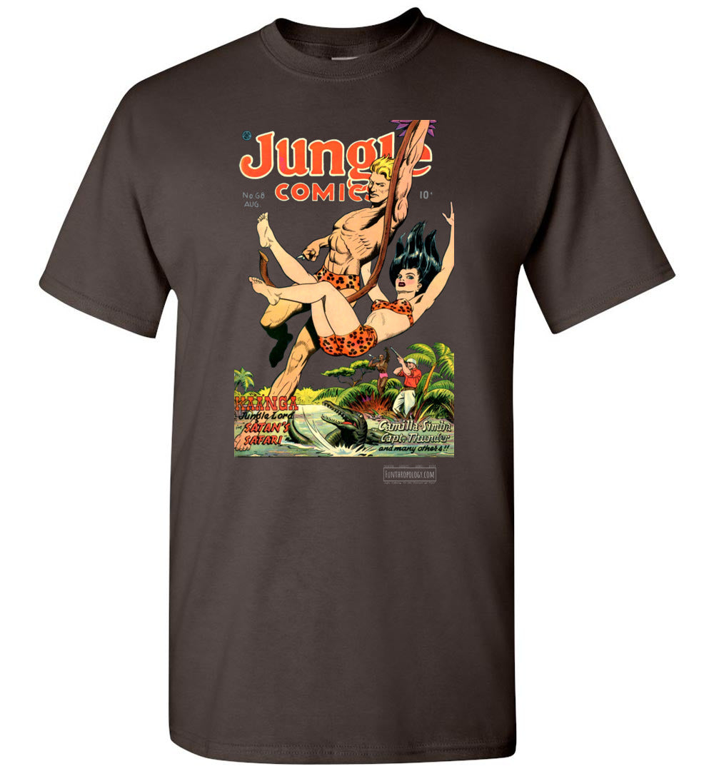 Jungle Comics No.68 T-Shirt (Unisex, Dark Colors)
