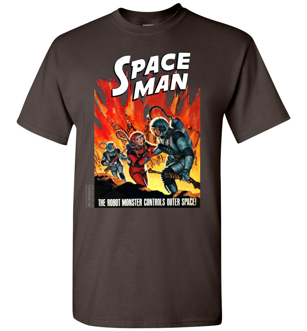 Space Man No.8 T-Shirt (Unisex, Dark Colors)