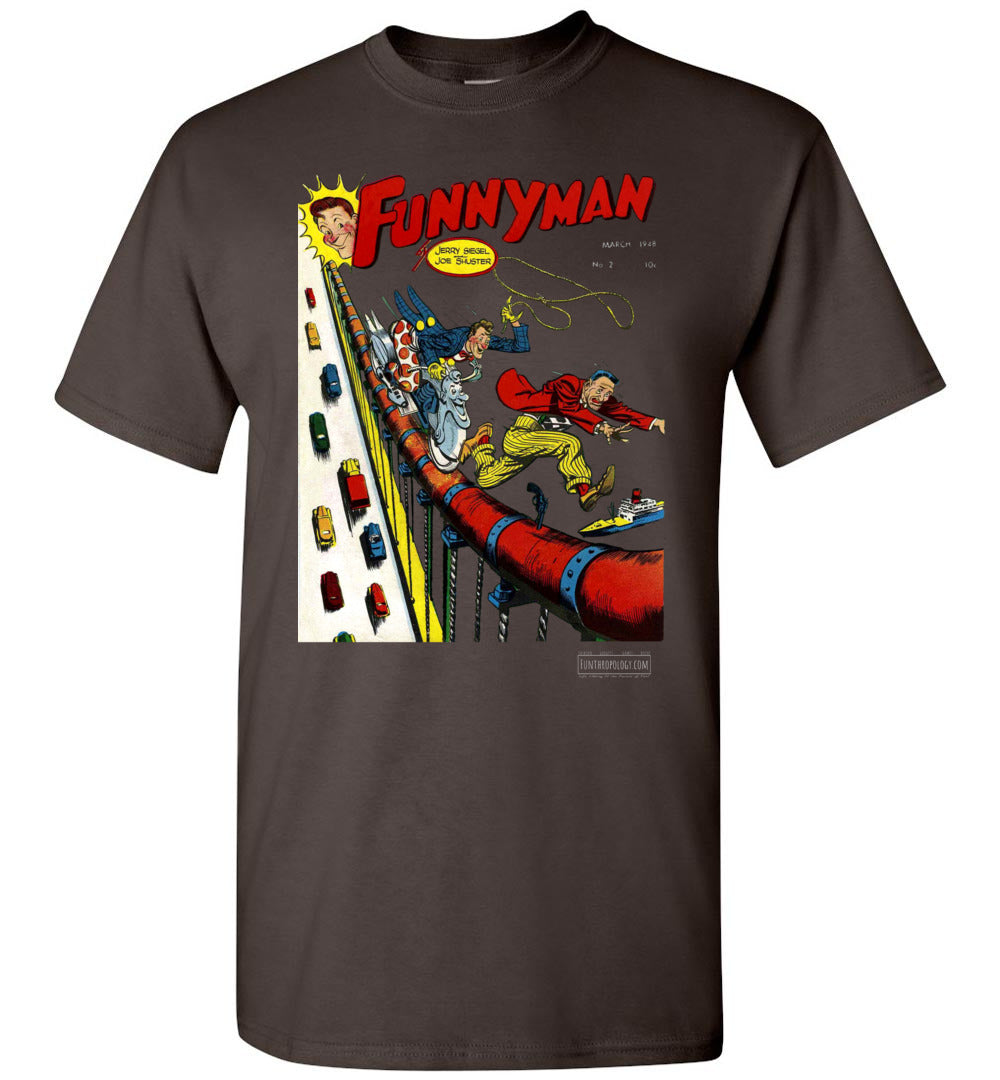 Funnyman No.2 T-Shirt (Unisex, Dark Colors)