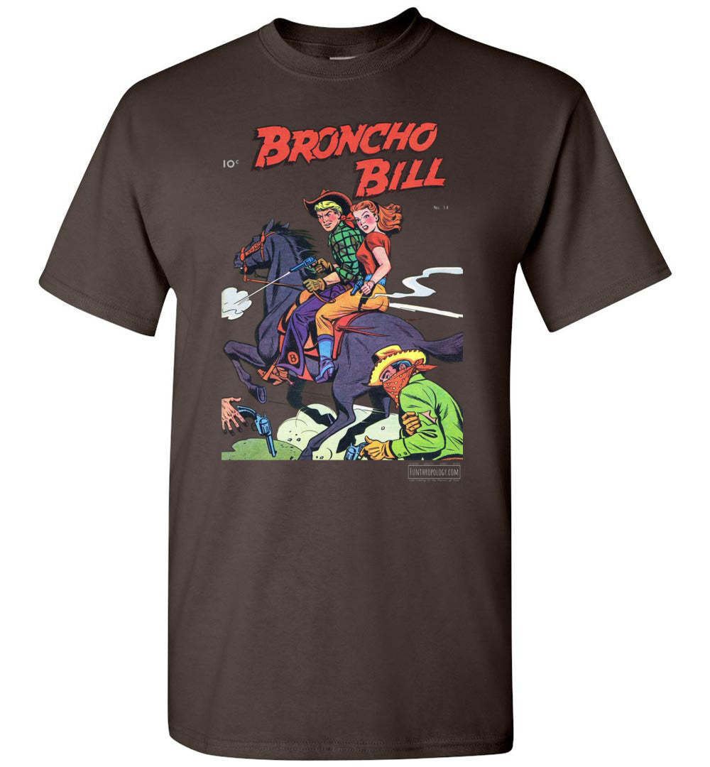 Broncho Bill No.14 T-Shirt (Unisex Plus, Dark Colors)