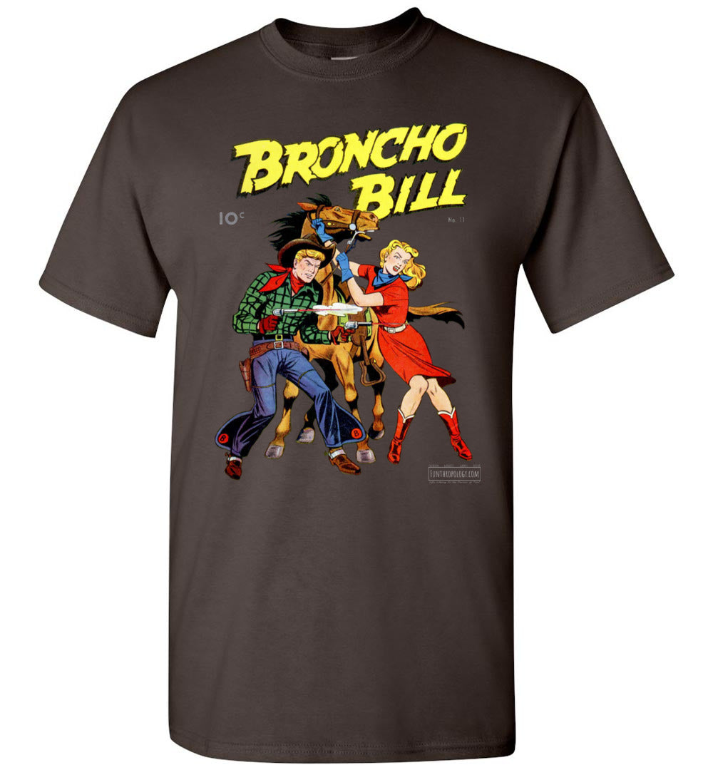 Broncho Bill No.11 T-Shirt (Youth, Dark Colors)