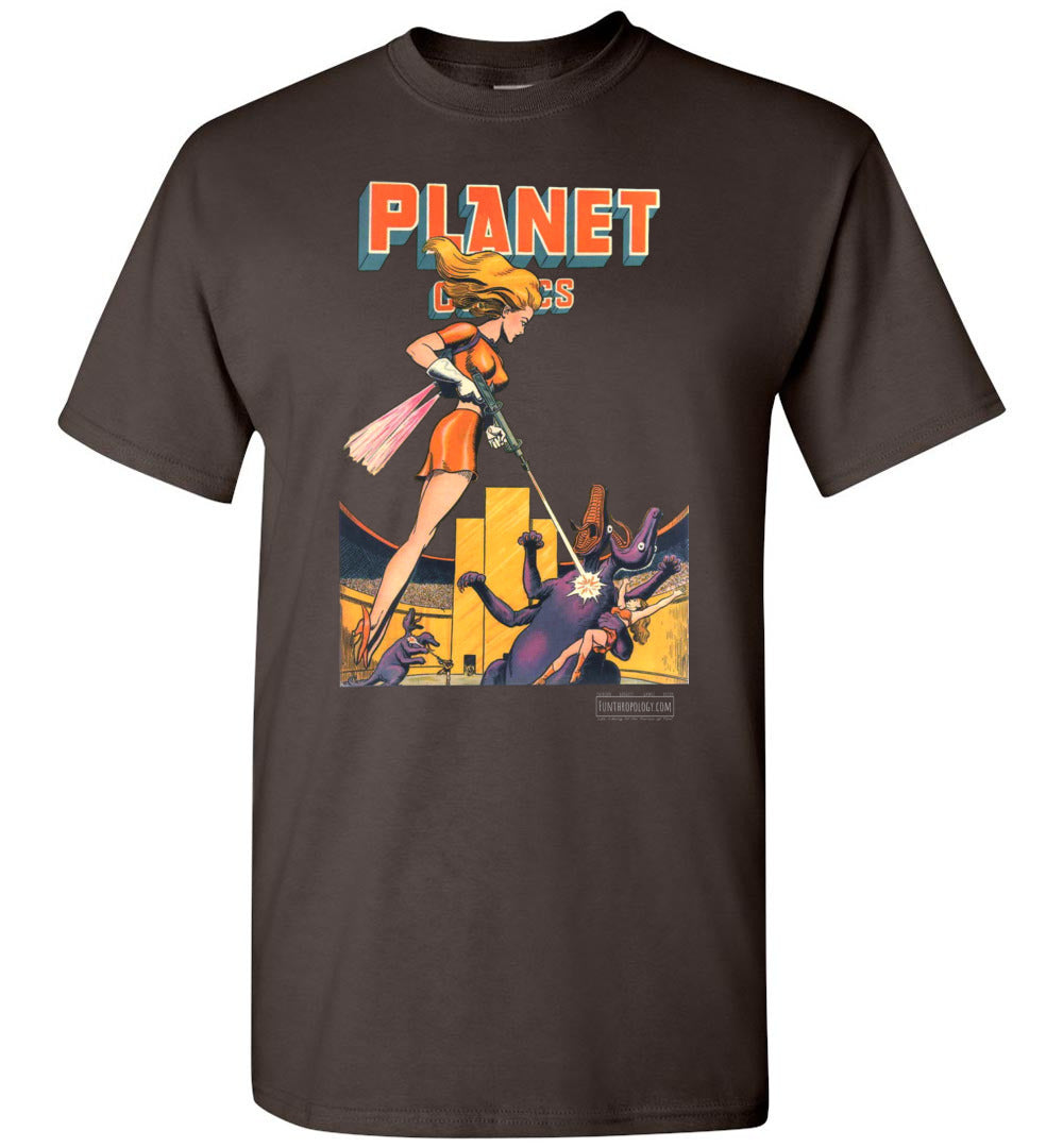 Planet Comics No.38 T-Shirt (Unisex, Dark Colors)