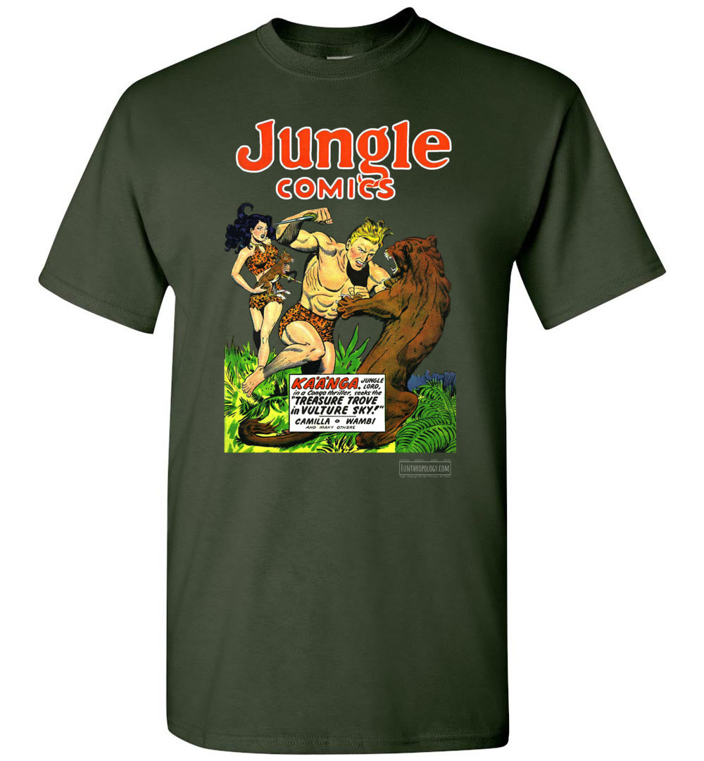 Jungle Comics No.115 T-Shirt (Unisex, Dark Colors)