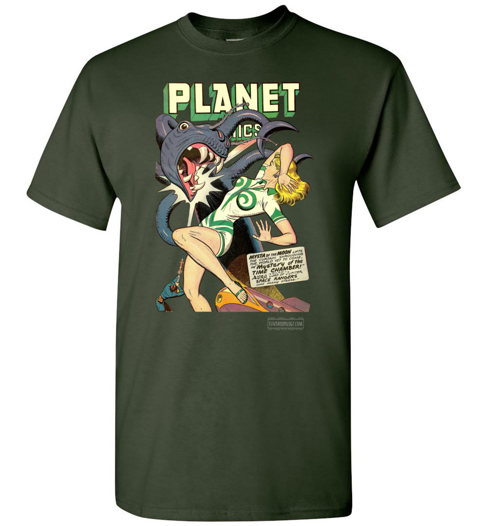 Planet Comics No.52 T-Shirt (Unisex, Dark Colors)