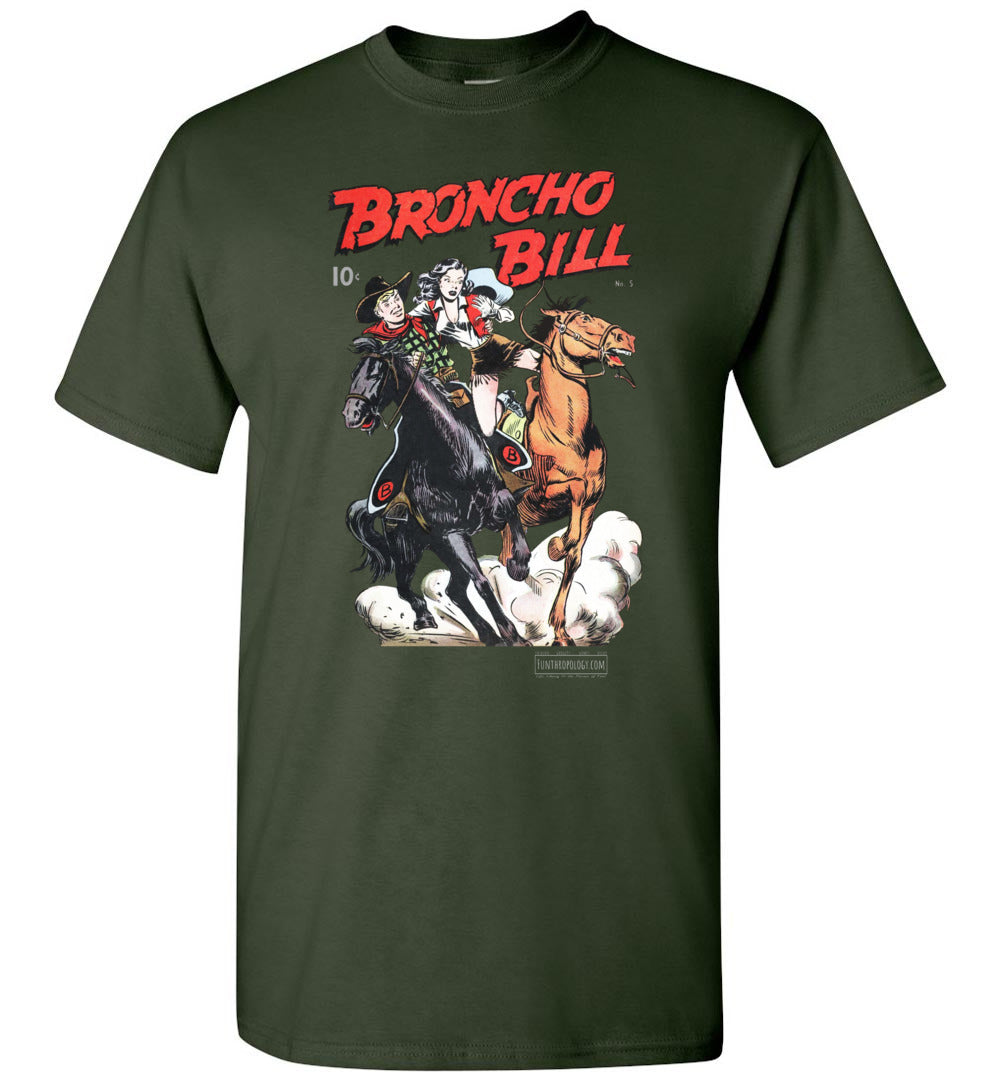 Broncho Bill No.5 T-Shirt (Unisex, Dark Colors)