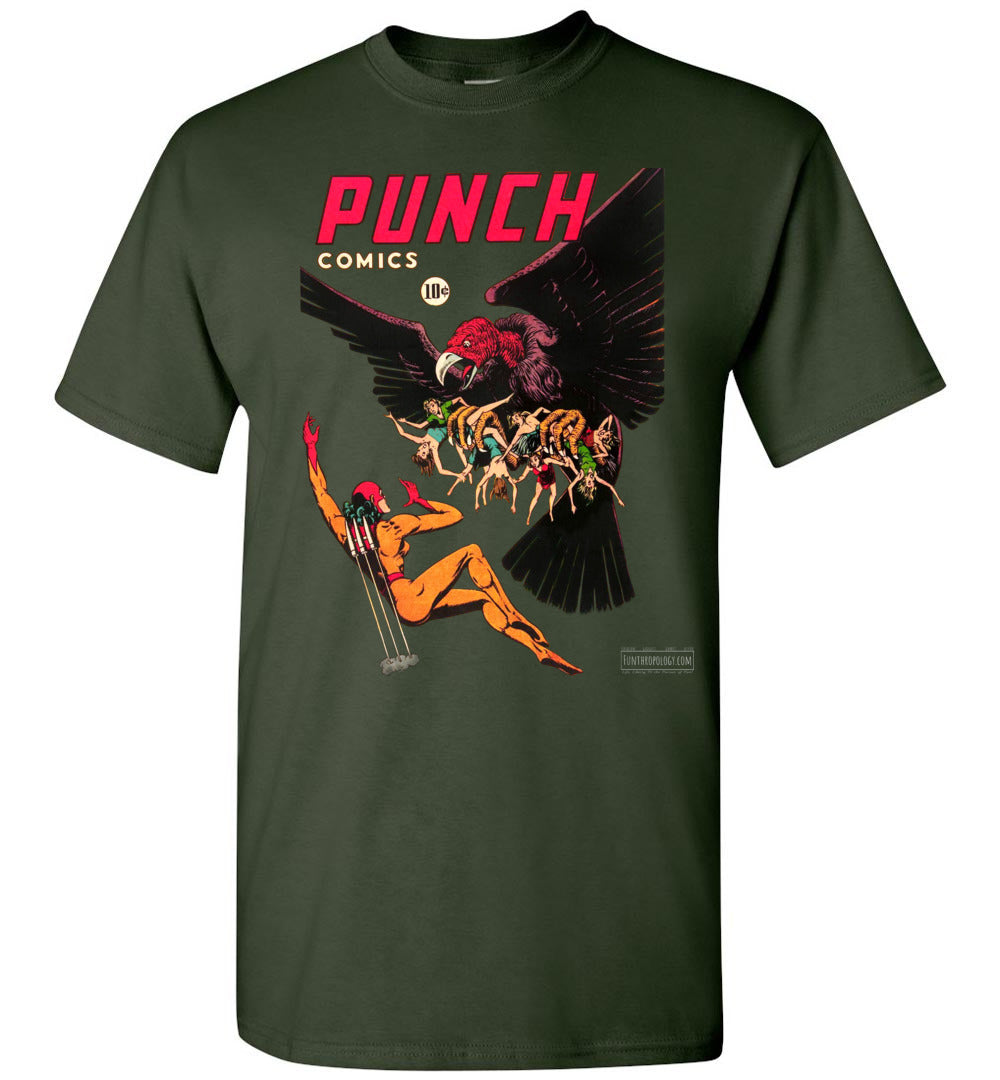 Punch Comics No.20 T-Shirt (Unisex, Dark Colors)