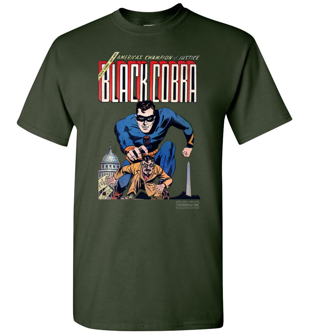 Black Cobra No.1 T-Shirt (Unisex, Dark Colors)