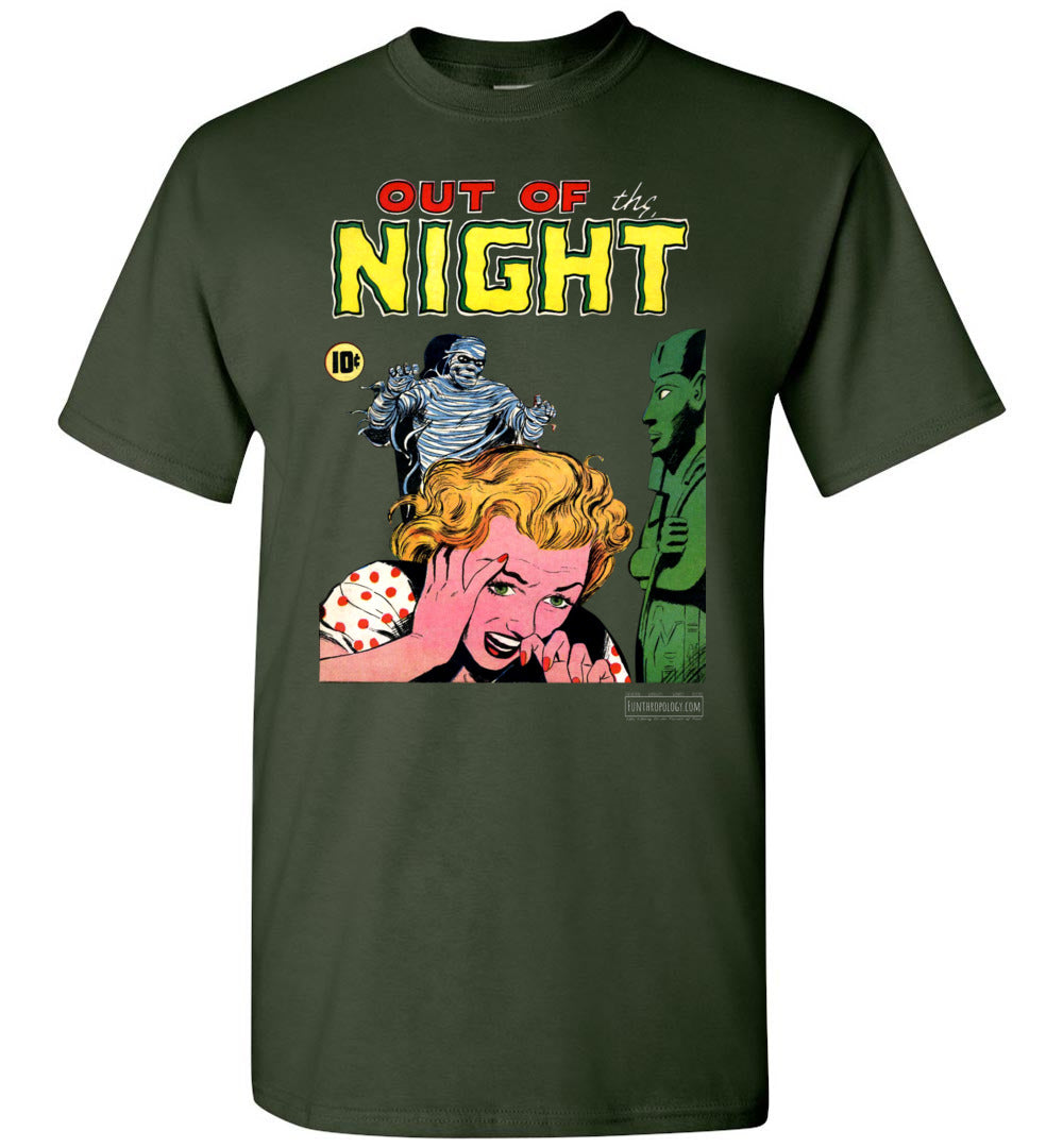 Out Of The Night No.2 T-Shirt (Unisex, Dark Colors)