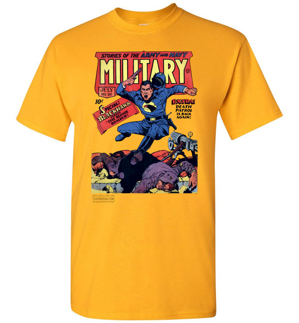 Military Comics No.20 T-Shirt (Youth, Light Colors)