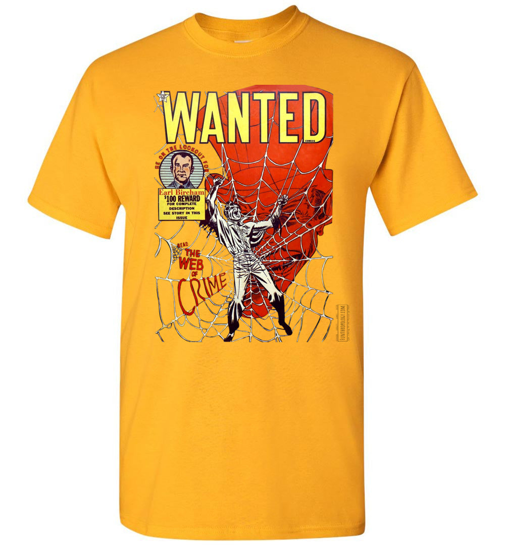 Wanted Comics No.33 T-Shirt (Unisex, Light Colors)