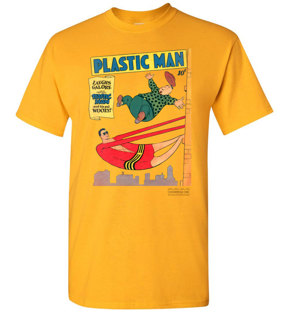 Plastic Man No.4 T-Shirt (Unisex, Light Colors)
