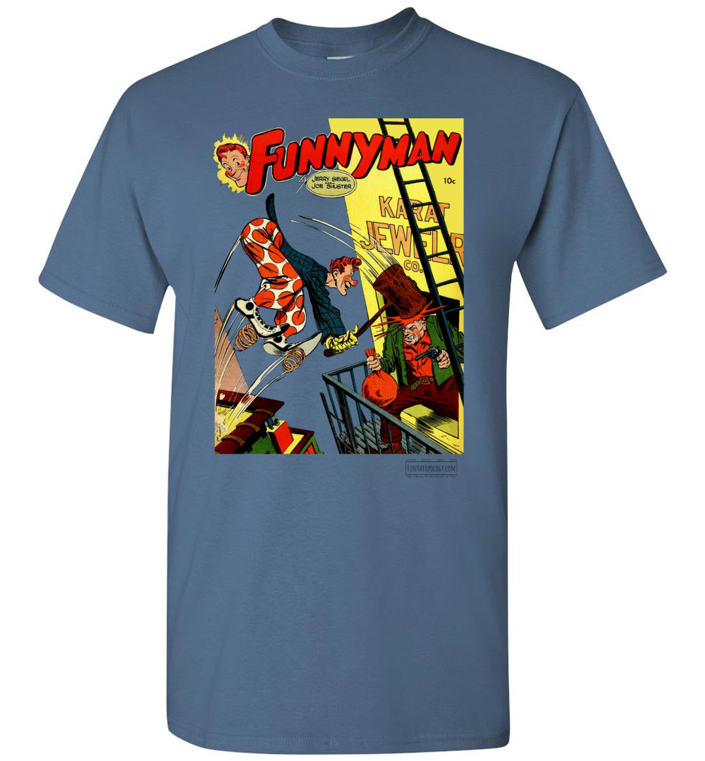 Funnyman No.3 T-Shirt (Unisex, Light Colors)