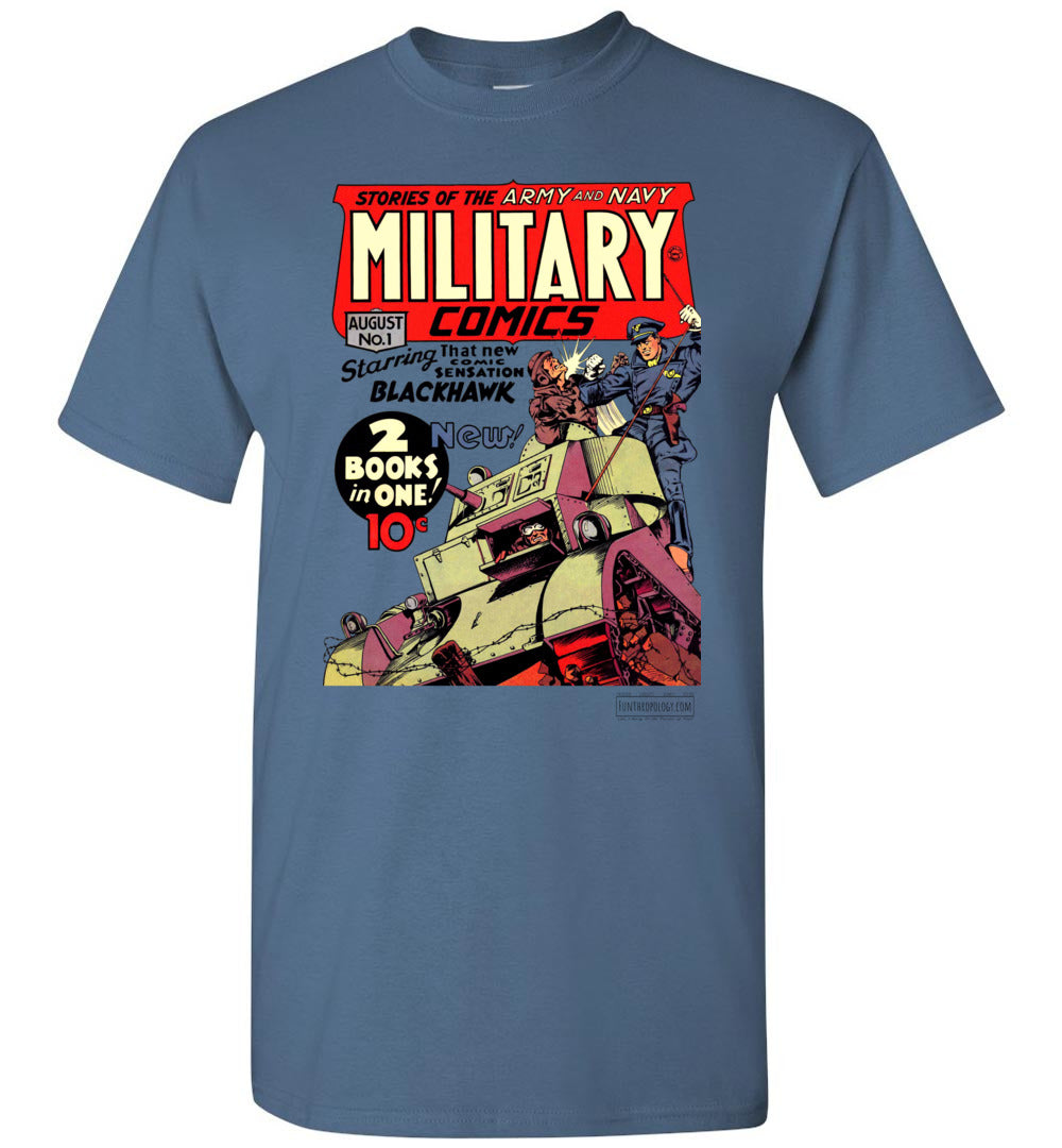 Military Comics No.1 T-Shirt (Youth, Light Colors)