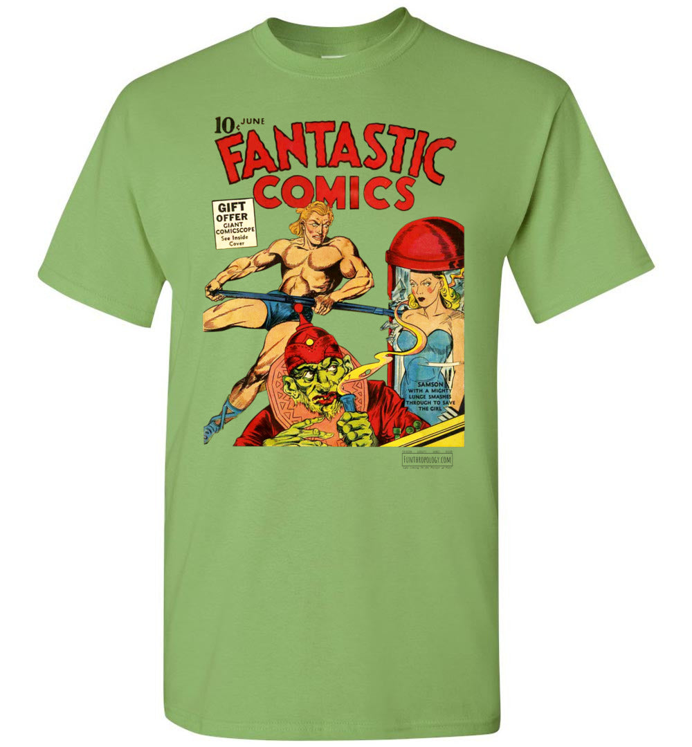 Fantastic Comics No.7 T-Shirt (Unisex, Light Colors)