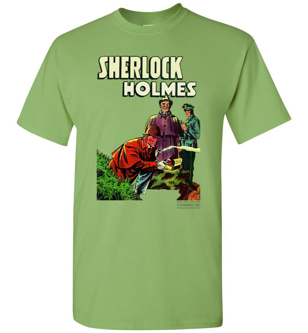 Sherlock Holmes No.1 T-Shirt (Unisex Plus, Light Colors)