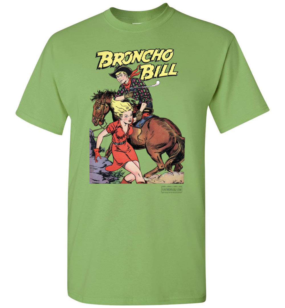 Broncho Bill No.6 T-Shirt (Unisex Plus, Light Colors)