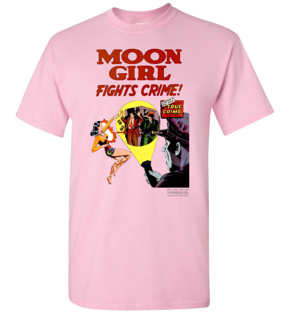 Moon Girl No.8 T-Shirt (Unisex, Light Colors)