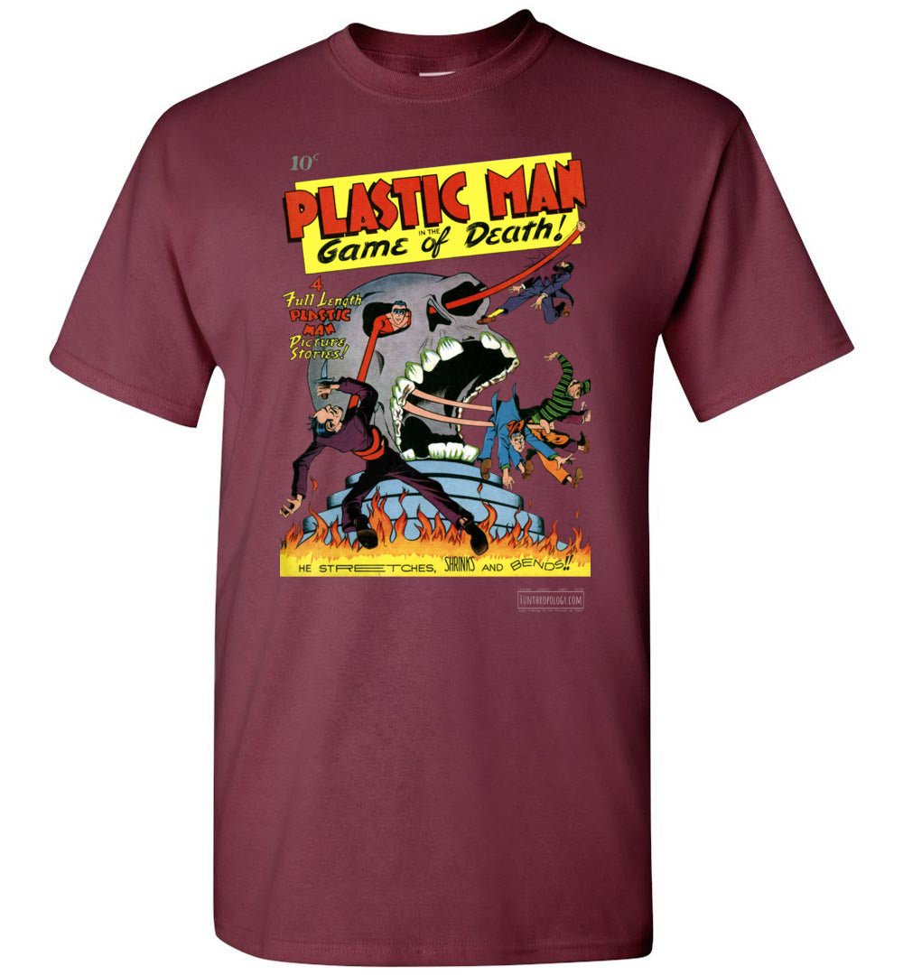 Plastic Man No.1 T-Shirt (Unisex, Dark Colors)