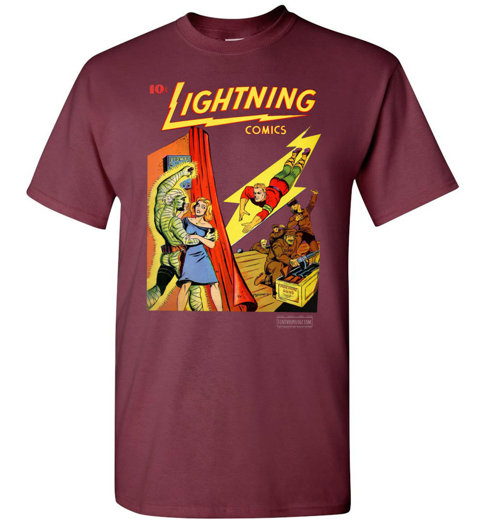 Lightning Comics No.1.6 T-Shirt (Unisex, Dark Colors)