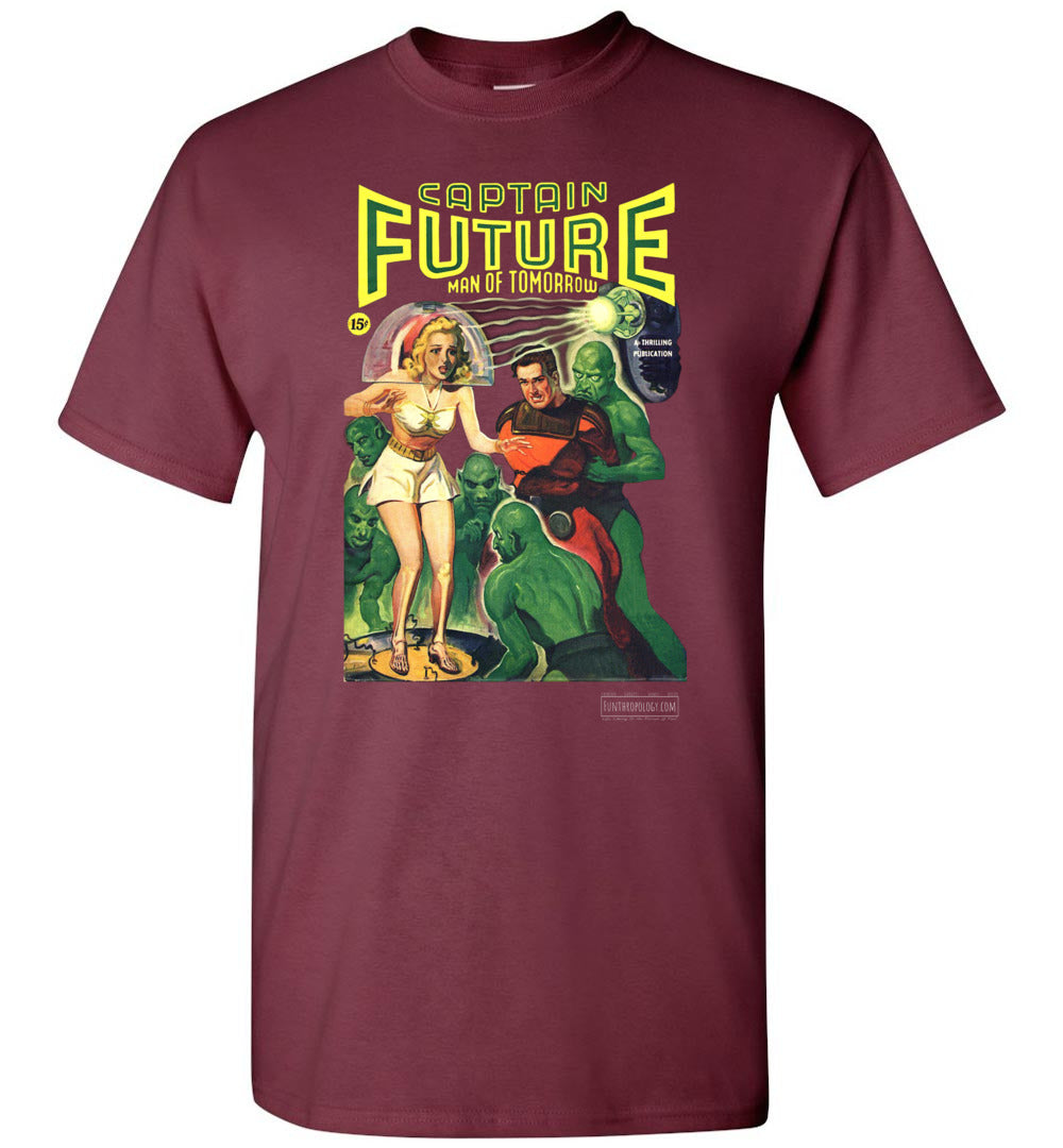 Captain Future No.12 T-Shirt (Unisex, Dark Colors)