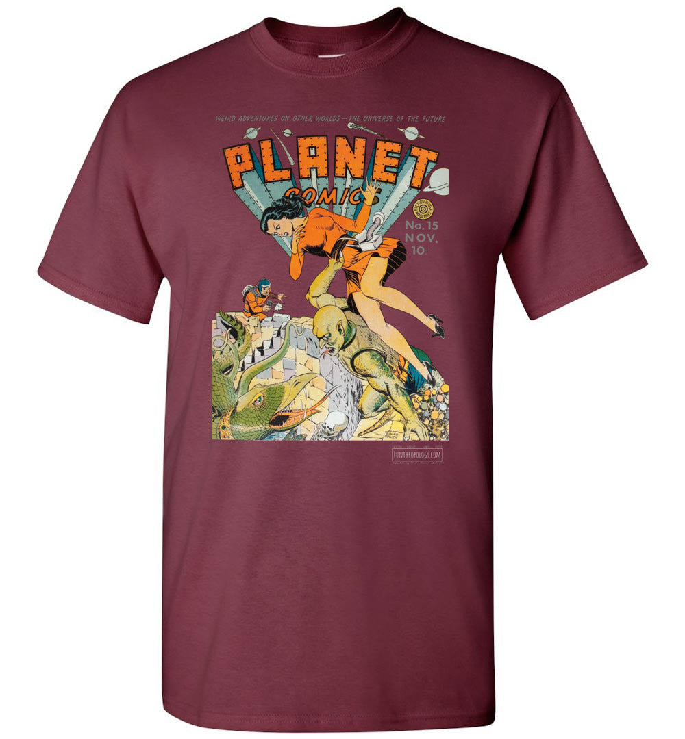 Planet Comics No.15 T-Shirt (Unisex, Dark Colors)